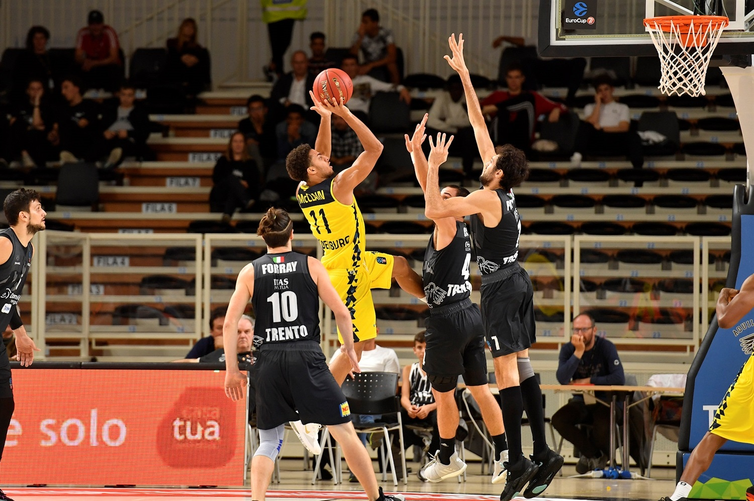Kevin McClain - EWE Baskets Oldenburg (photo Trento) - EC19