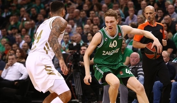 RS03 Report: LeDay leads Zalgiris to first win