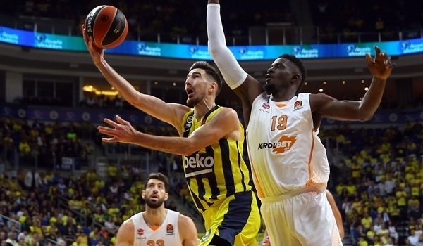 RS03 Report: De Colo's career-night leads Fenerbahce to first win