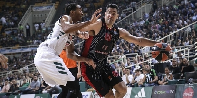 RS Round 3:  Panathinaikos OPAP Athens vs. AX Armani Exchange Milan
