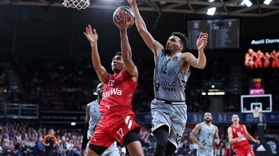Lo, Bayern blow out ASVEL by 41