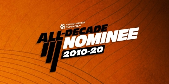 Turkish Airlines EuroLeague All-Decade Nominees