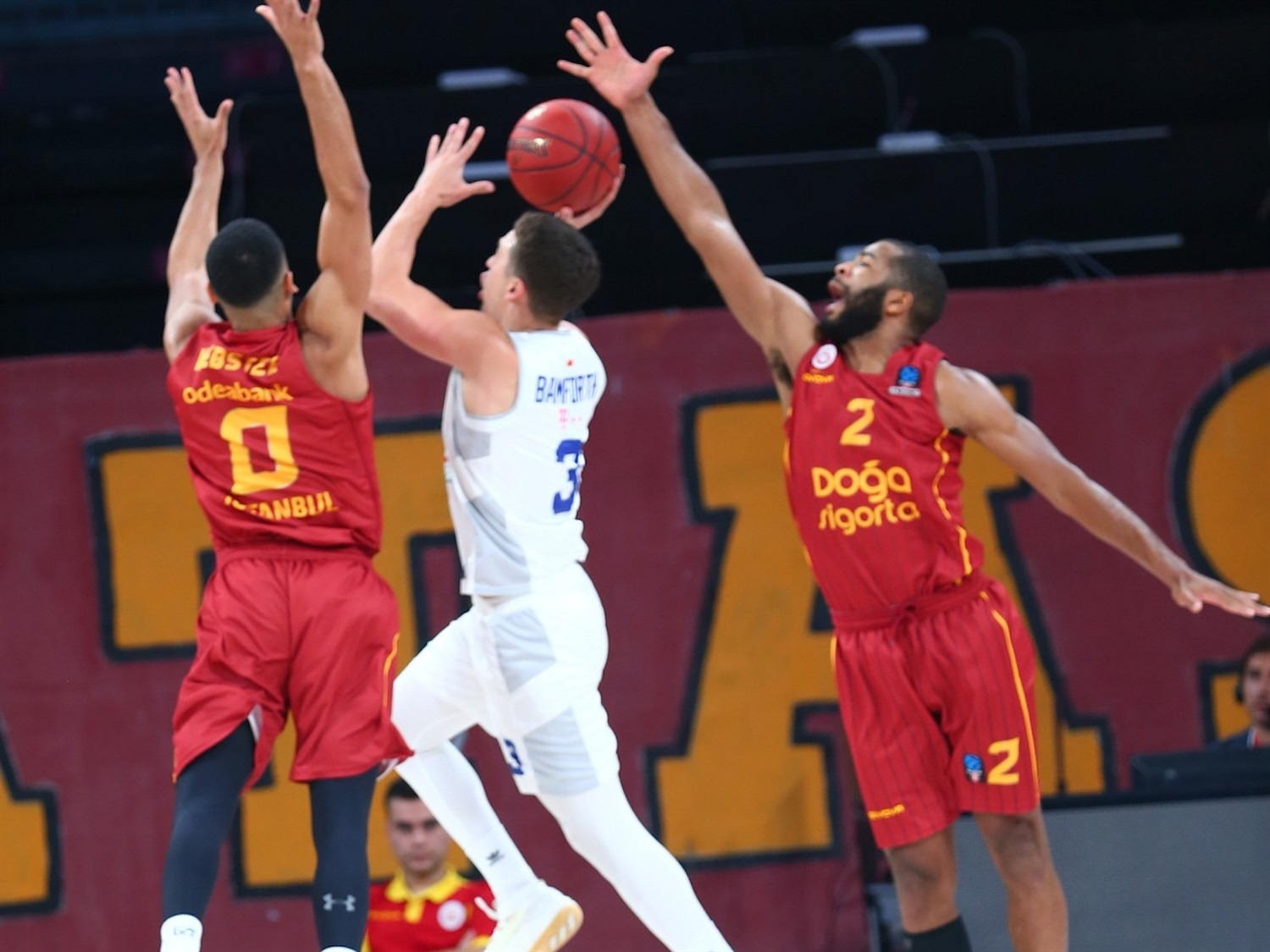 Scott Bamforth - Buducnost VOLI Podgorica (photo Galatasaray) - EC19