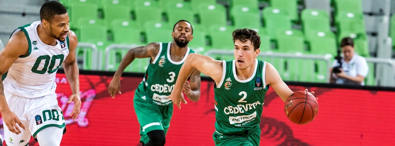 Kruslin, Hopkins gave Olimpija an extra boost