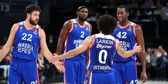 Efes defense forced Real to record low