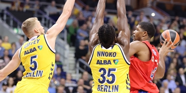 RS Round 4: ALBA Berlin vs. CSKA Moscow