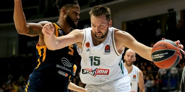 Greens bring back center Vougioukas