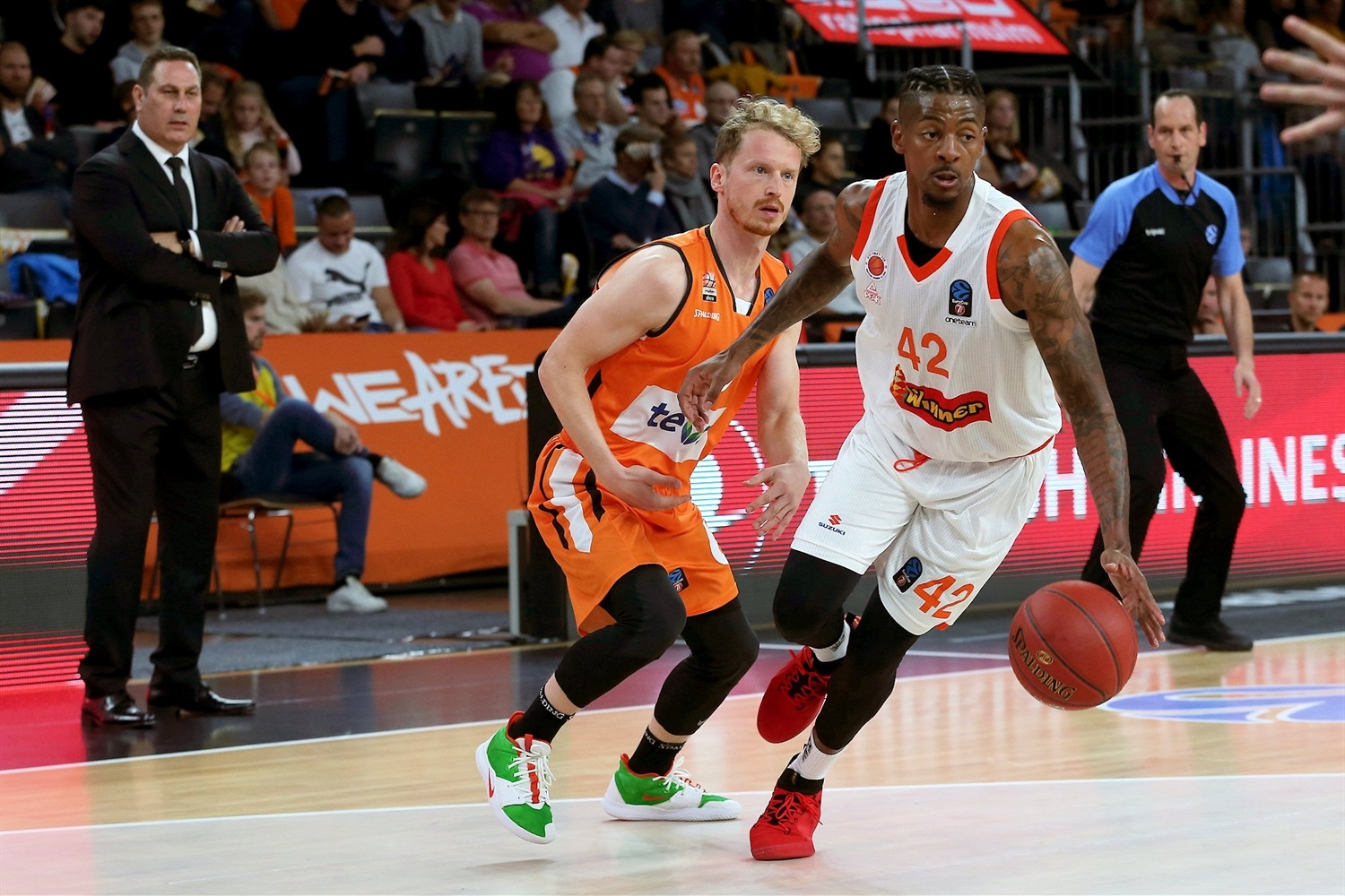 Alex Hamilton - Maccabi Rishon Lezion (photo Ulm - Harry Langer) - EC19