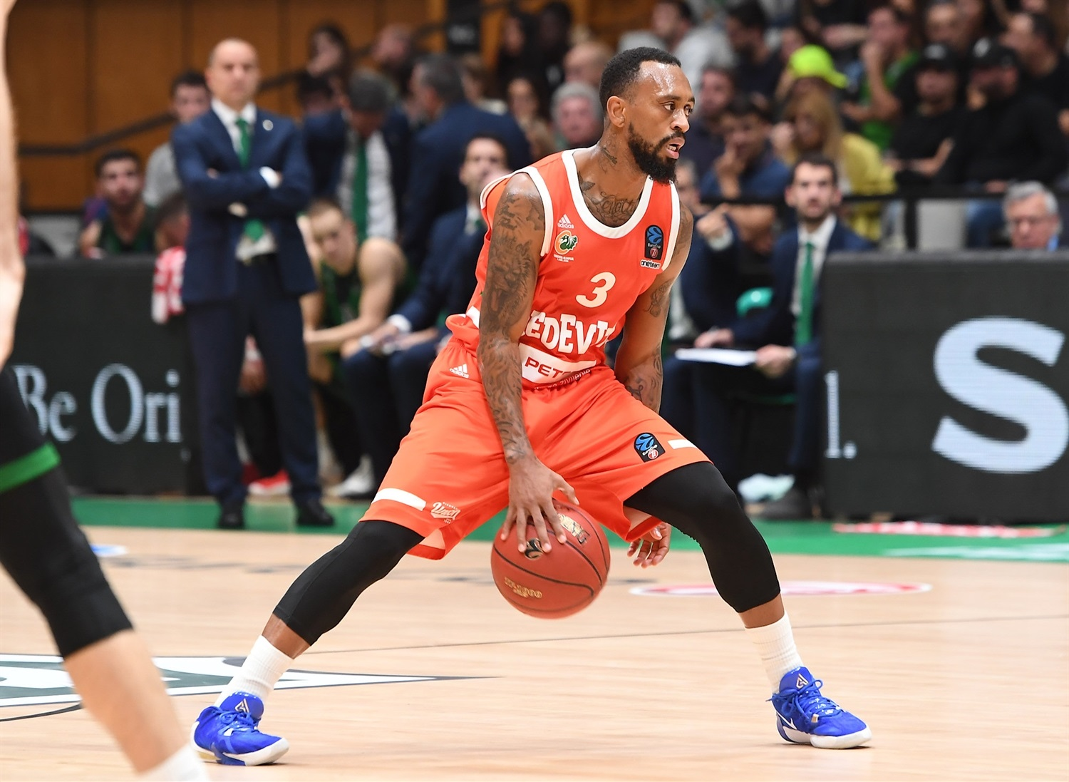 Ryan Boatright - Cedevita Olimpija Ljubljana (photo Joventut - David Grau) - EC19