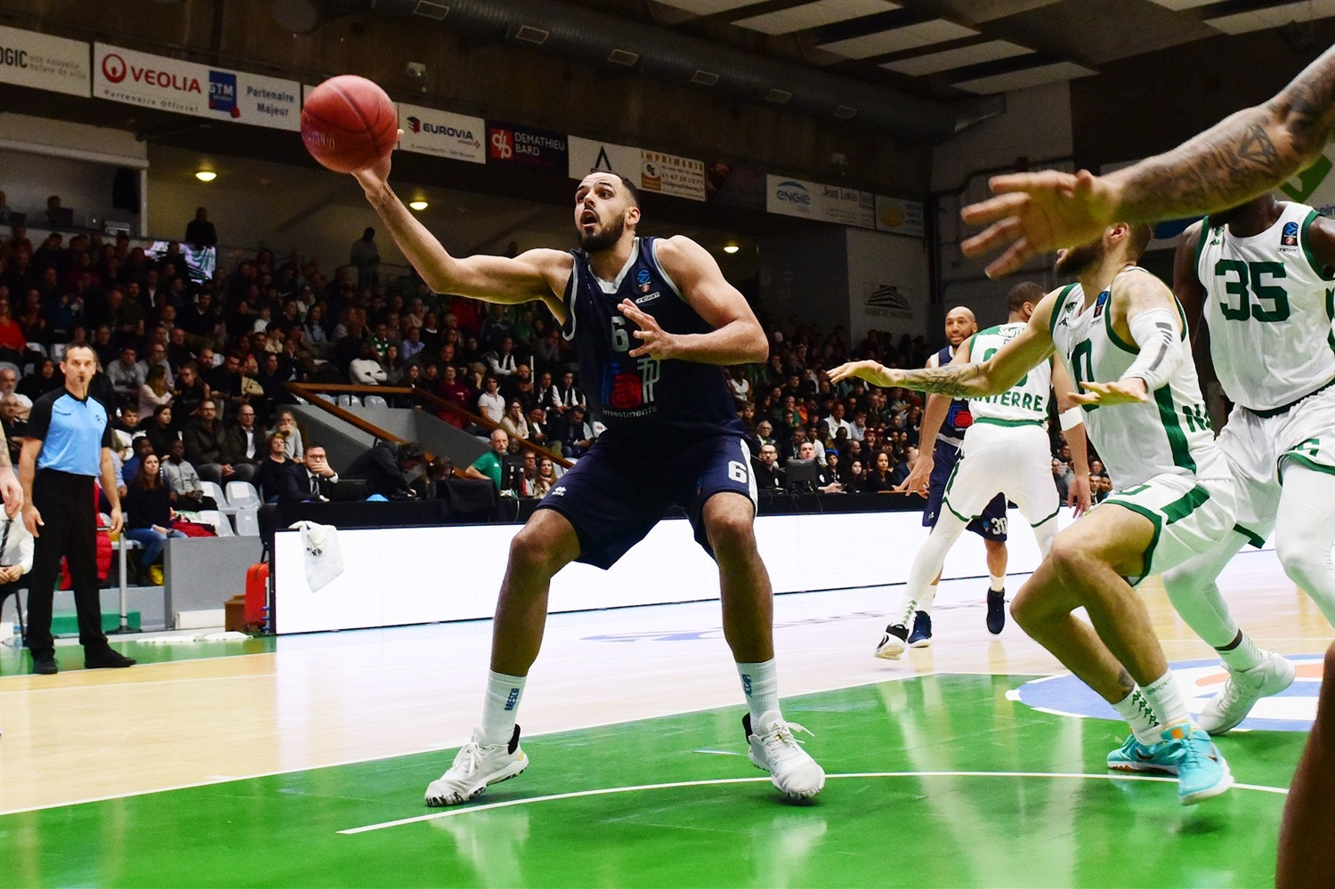 Tyler Cain - Germani Brescia Leonessa (photo Nanterre) - EC19