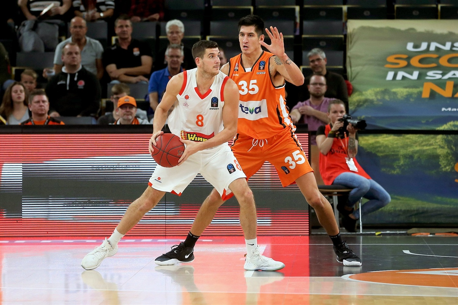 Frederic Bourdillon - Maccabi Rishon Lezion (photo Ulm - Harry Langer) - EC19