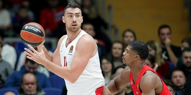 Milutinov out 3 weeks for Olympiacos