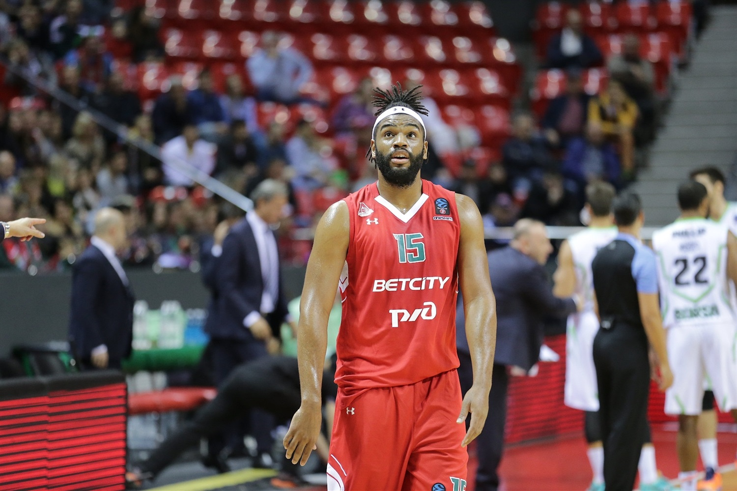 Alan Williams - Lokomotiv Kuban Krasnodar (photo Lokomotiv) - EC19