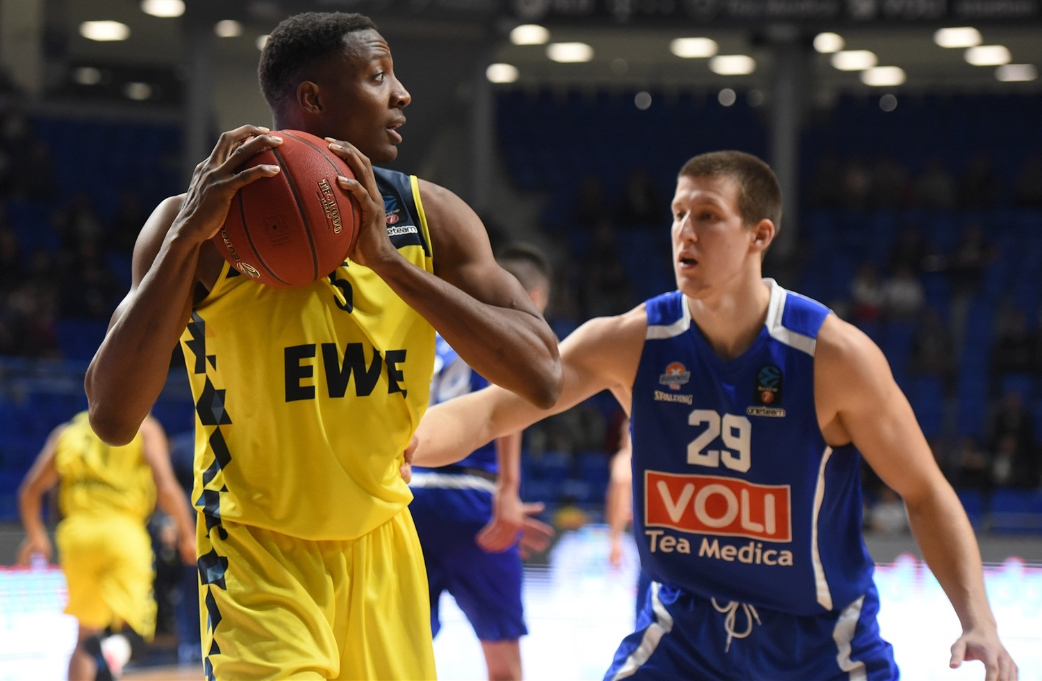 Justin Sears - EWE Baskets Oldenburg (photo Buducnost) - EC19