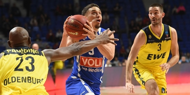 7DAYS EuroCup, Regular Season Round 5: Buducnost VOLI Podgorica vs. EWE Baskets Oldenburg