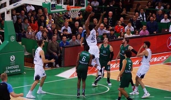 RS05 Report: Partizan beats Limoges to stay undefeated