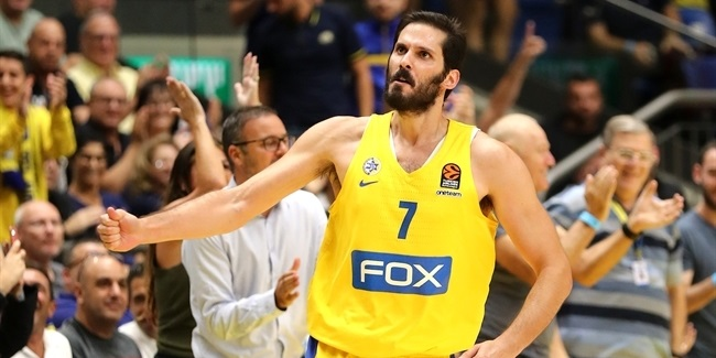 Maccabi: Black, Casspi to miss four more weeks