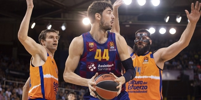 RS Round 5: FC Barcelona vs. Valencia Basket