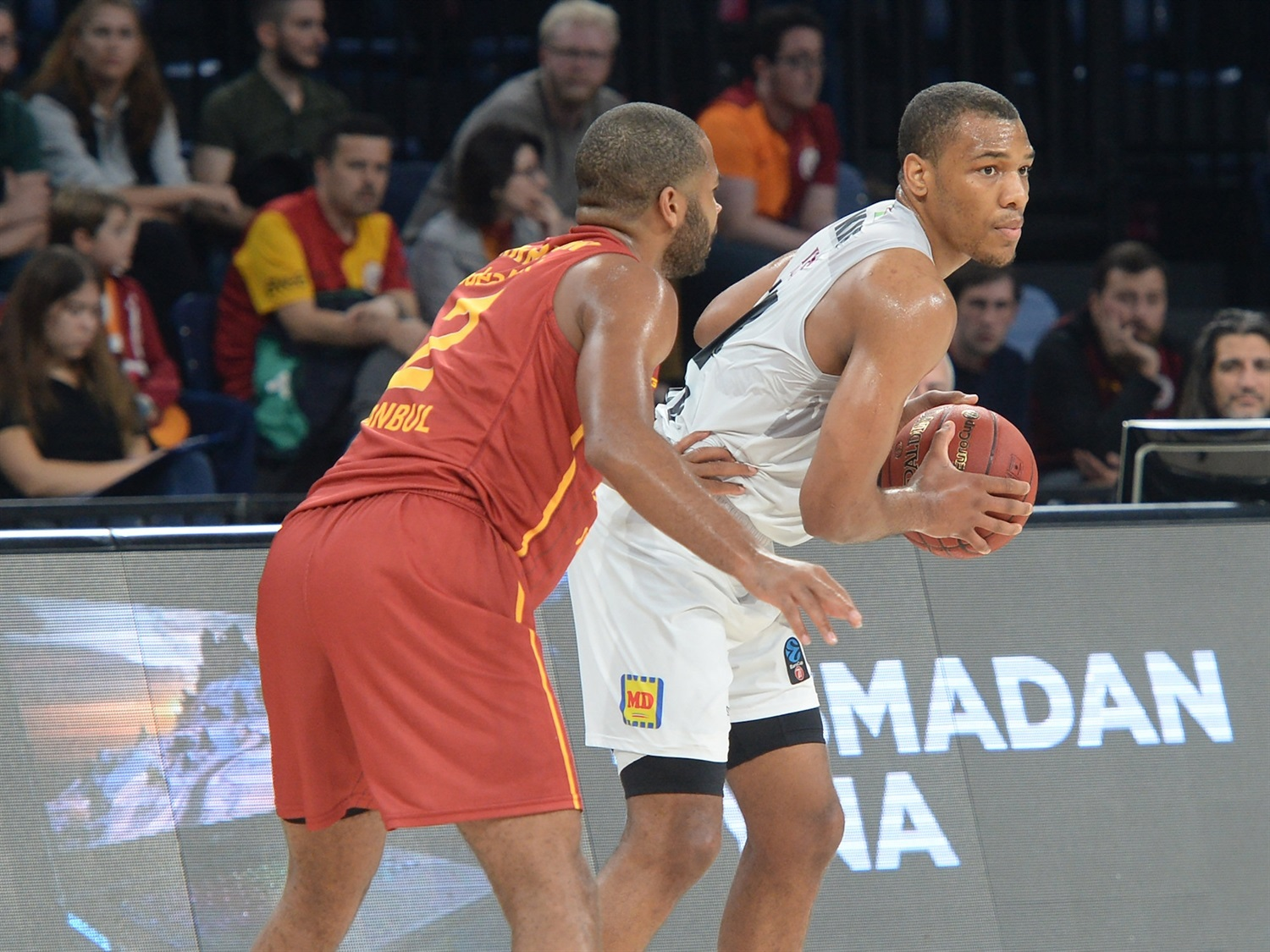 George King - Dolomiti Energia Trento (photo Galatasaray) - EC19
