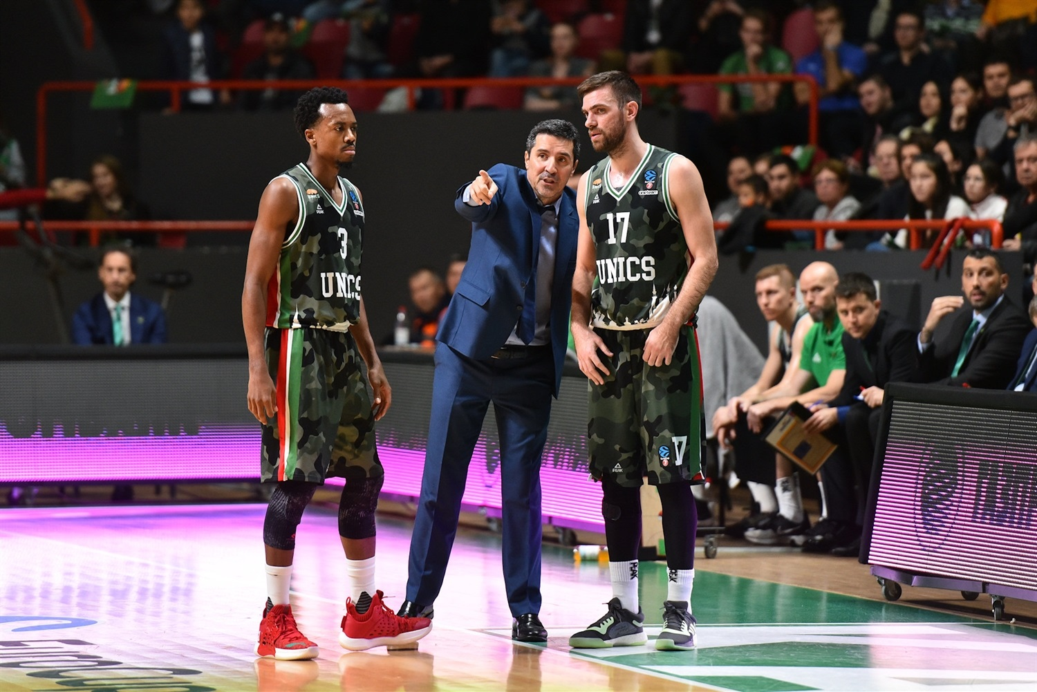 Dimitris Priftis - UNICS Kazan (photo UNICS) - EC19