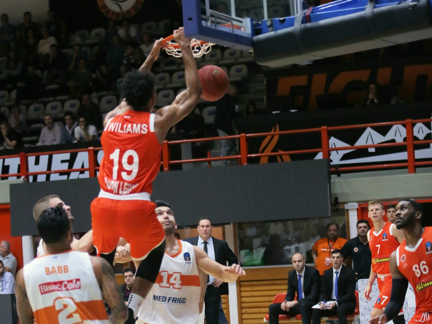 Johnathan Williams - Maccabi Rishon LeZion (photo Promitheas) - EC19