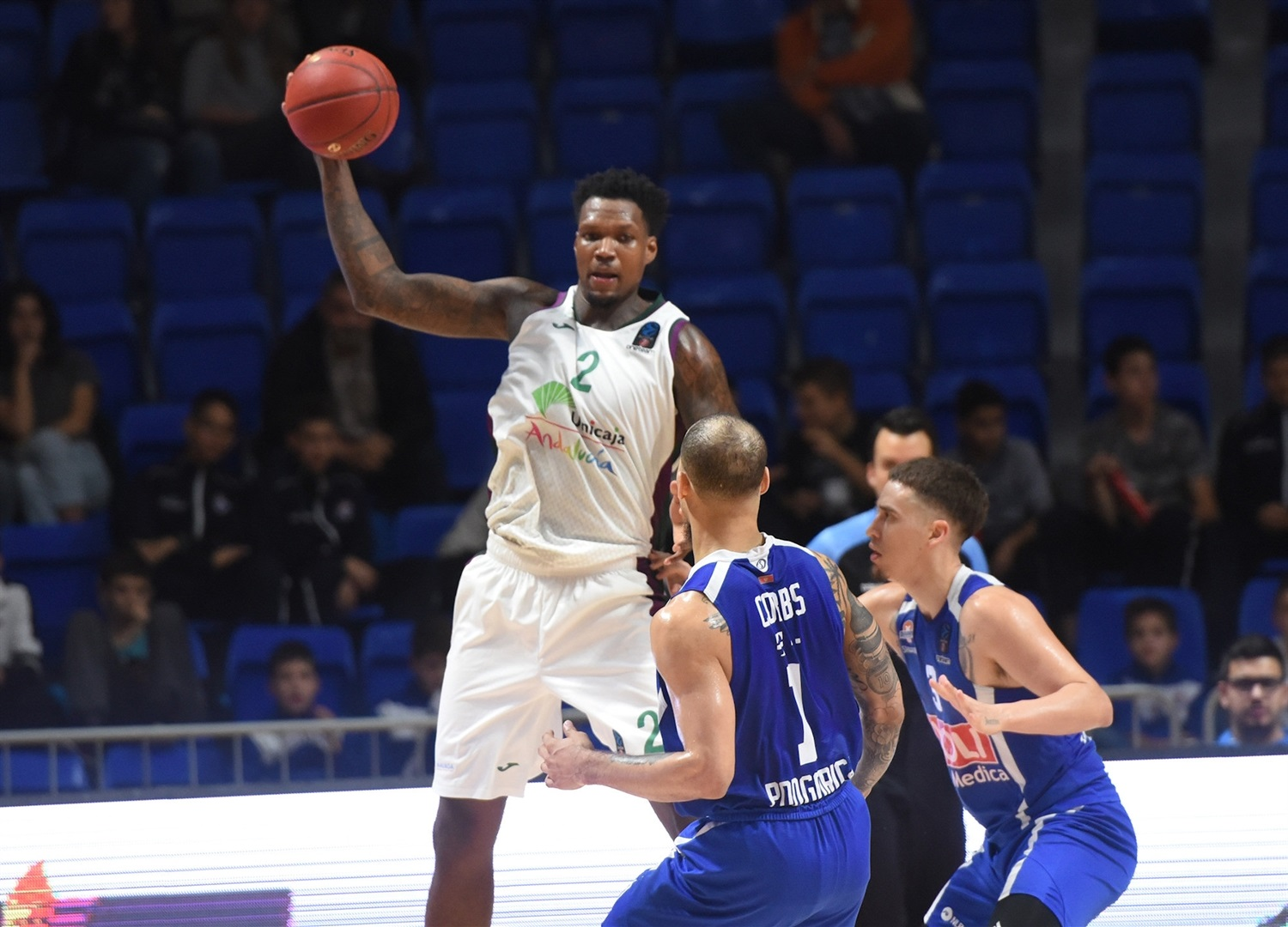 Deon Thompson - Unicaja Malaga (photo Buducnost) - EC19