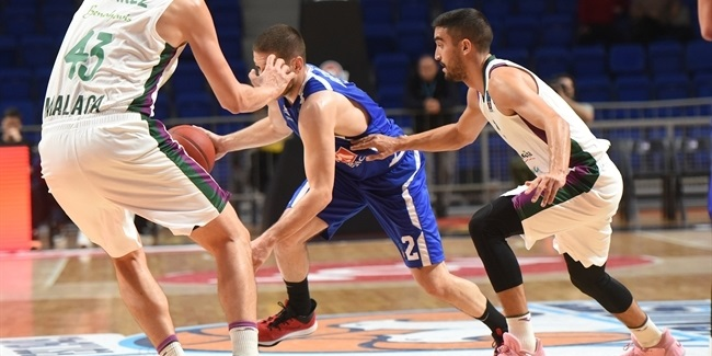 7DAYS EuroCup, Regular Season Round 6: Buducnost VOLI Podgorica vs. Unicaja Malaga