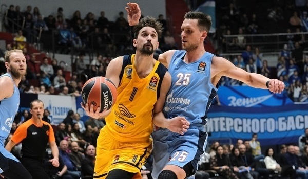RS07 Report: Booker, Shved lead Khimki past Zenit