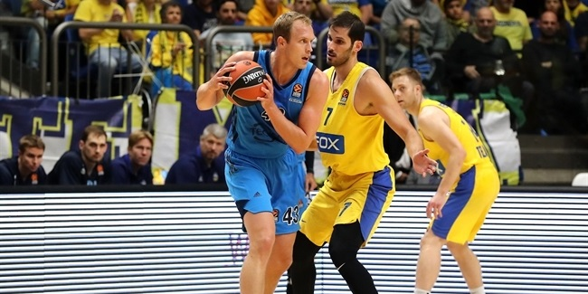 RS Round 7: Maccabi FOX Tel Aviv vs. ALBA Berlin