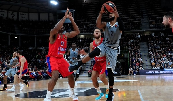 RS07 Report: Taylor's three lifts ASVEL over CSKA