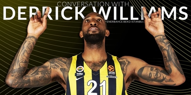 Derrick Williams, Fenerbahce: 'They brought me here with open arms'