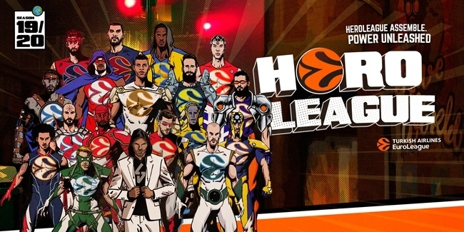 TURKISH AIRLINES EUROLEAGUE STARS ASSEMBLE FOR SPECIAL HEROLEAGUE MISSION