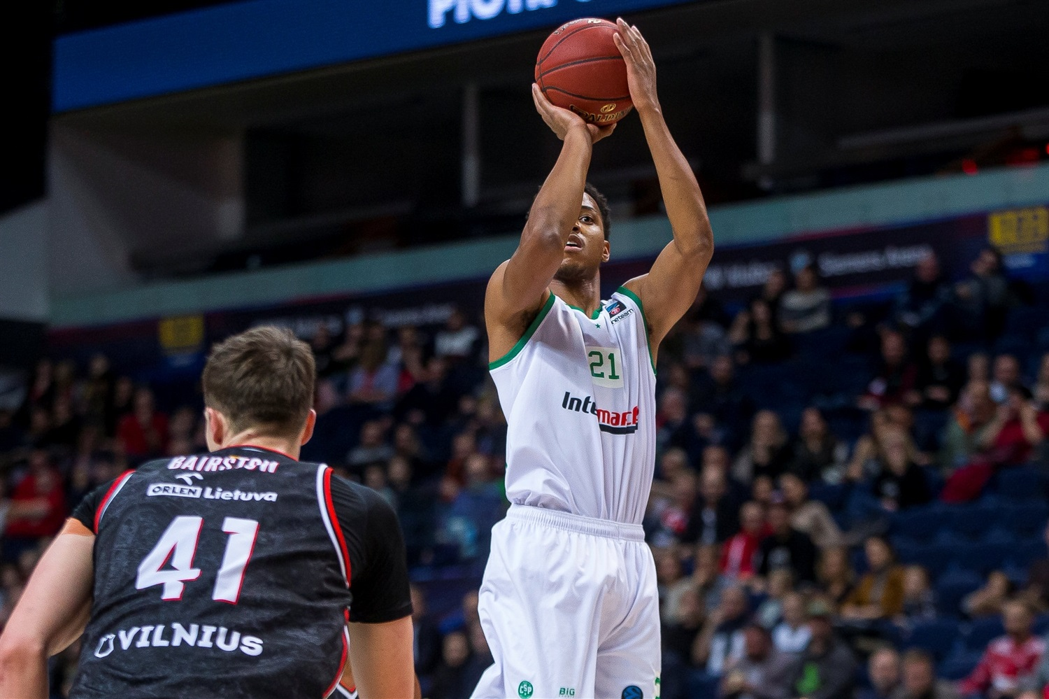 Anthony Brown - Limoges CSP (photo Rytas - Rokas Lukosevicius ) - EC19