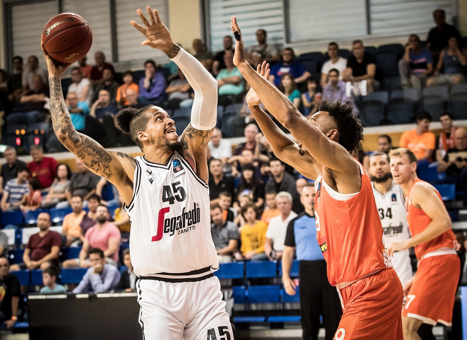 Julian Gamble - Segafredo Virtus Bologna (photo Rishon) - EC19