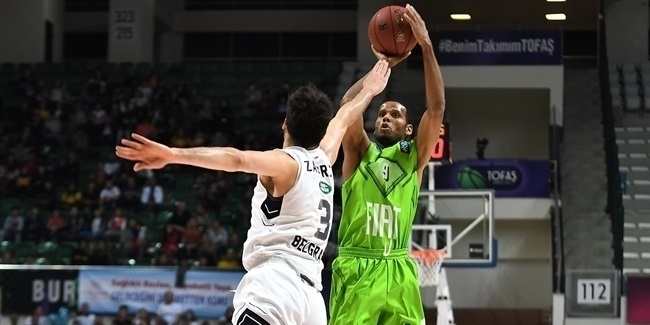 7DAYS EuroCup, Regular Season Round 7: Tofas Bursa vs. Partizan NIS Belgrade