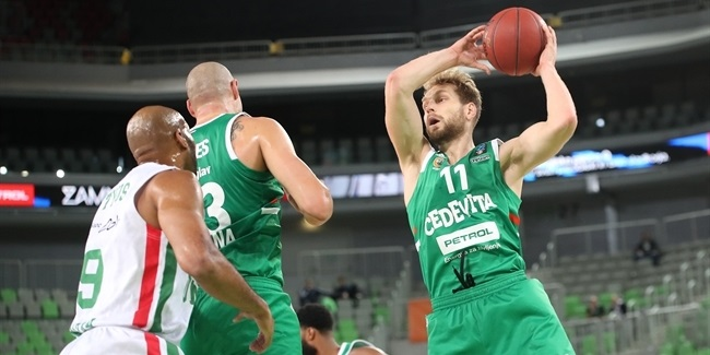 7DAYS EuroCup, Regular Season Round 7: Cedevita Olimpija Ljubljana vs. UNICS Kazan