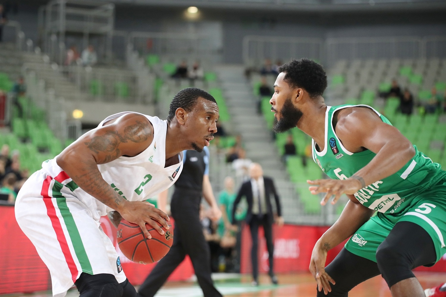 Raymar Morgan - UNICS Kazan (photo Olimpija) - EC19