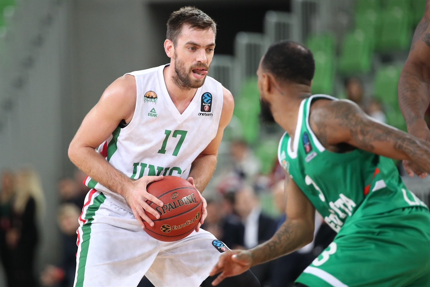 Vangelis Mantzaris - UNICS Kazan (photo Olimpija) - EC19