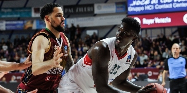7DAYS EuroCup, Regular Season Round 7: Umana Reyer Venice vs. Lokomotiv Kuban Krasnodar