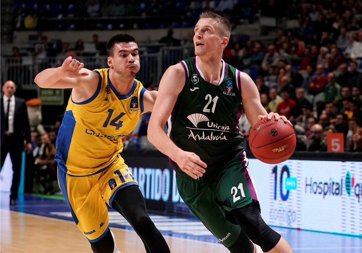 Adam Waczynski - Unicaja Malaga (photo Unicaja - Mariano Pozo) - EC19