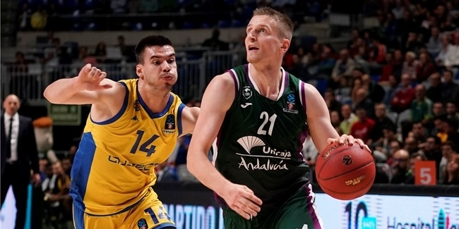7DAYS EuroCup, Regular Season Round 7: Unicaja Malaga vs. Asseco Arka Gdynia
