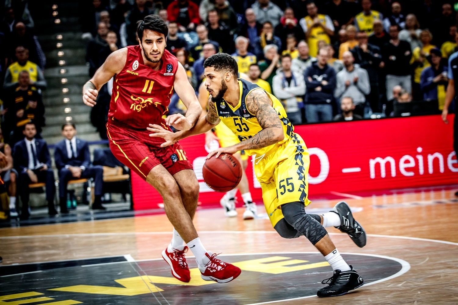Tyler Larson - EWE Baskets Oldenburg (photo Ulf Duda - fotoduda.de) - EC19