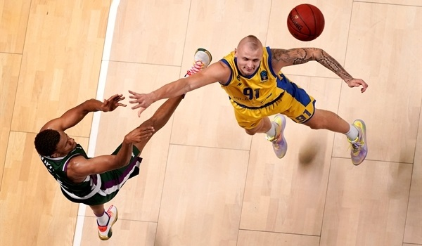 RS07 Report: Unicaja cruises past Arka and into Top 16