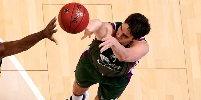 Unicaja forward Suarez out with calf injury