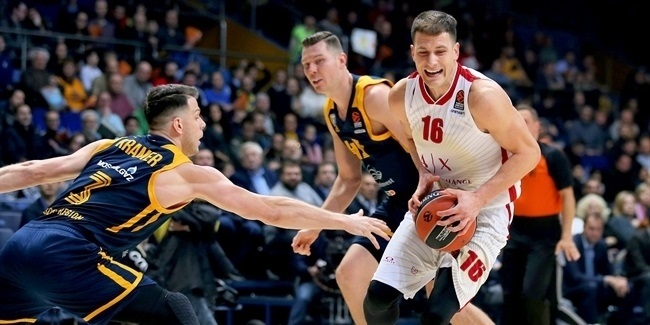 RS Round 8: Khimki Moscow Region vs. AX Armani Exchange Milan