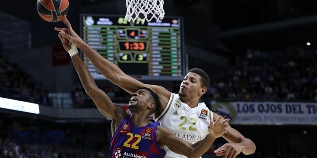 Signature moves: Walter Tavares, Real Madrid