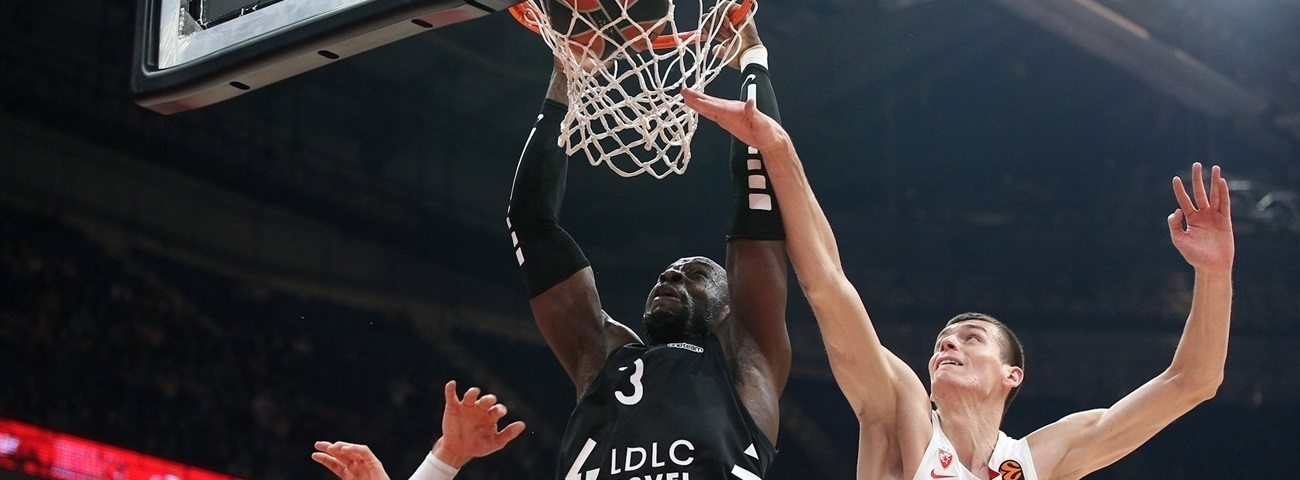 Jekiri was ASVEL's monster on boards, and plenty more