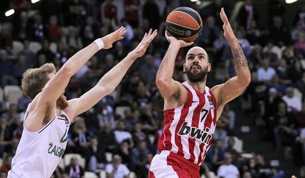 RS08 Report: Olympiacos beats Zalgiris to return to winning path