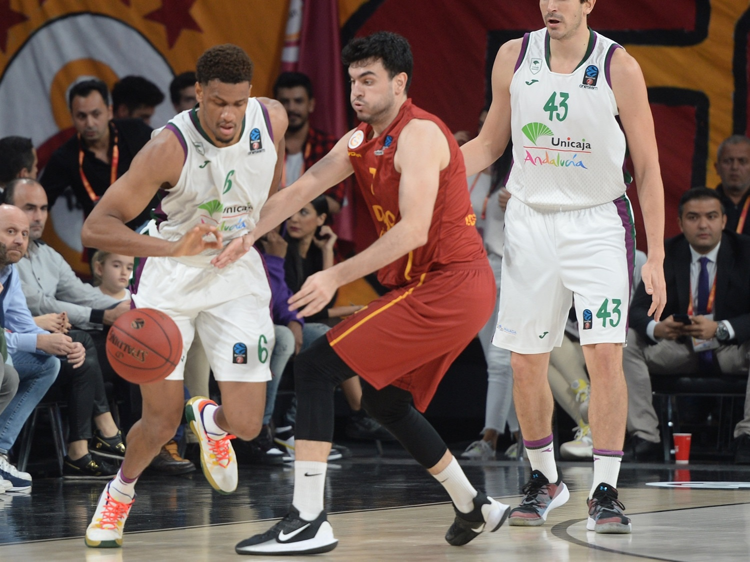 Axel Toupane - Unicaja Malaga (photo Galatasaray - Ali Kemertas) - EC19