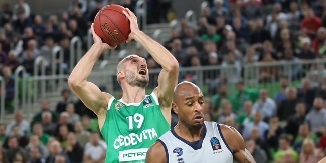 7DAYS EuroCup, Regular Season Round 8: Cedevita Olimpija Ljubljana vs. Germani Brescia Leonessa